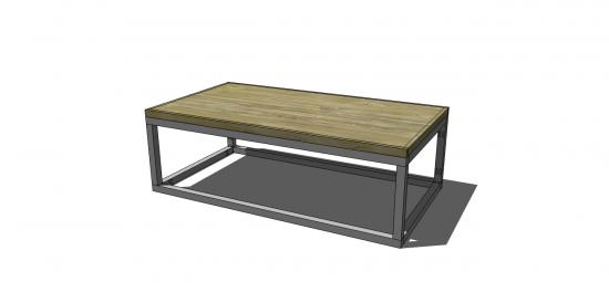 free diy furniture plans to build a copenhagen coffee table the design confidential. Black Bedroom Furniture Sets. Home Design Ideas