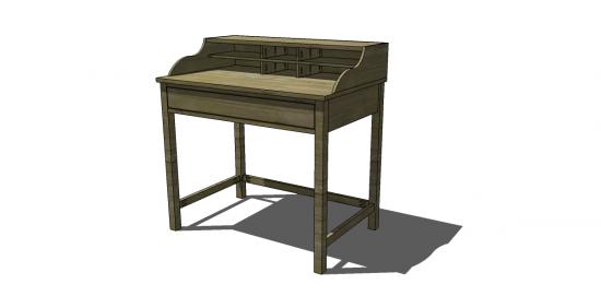 Free Diy Furniture Plans To Build A Jacqueline Bedside