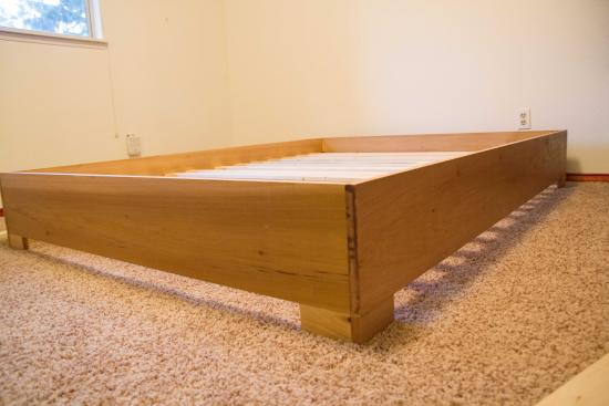 Marvelous Builders Showcase West Elm Inspired Bed Frame The Design Confidential