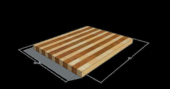 Build A Butcher Block Cutting Board