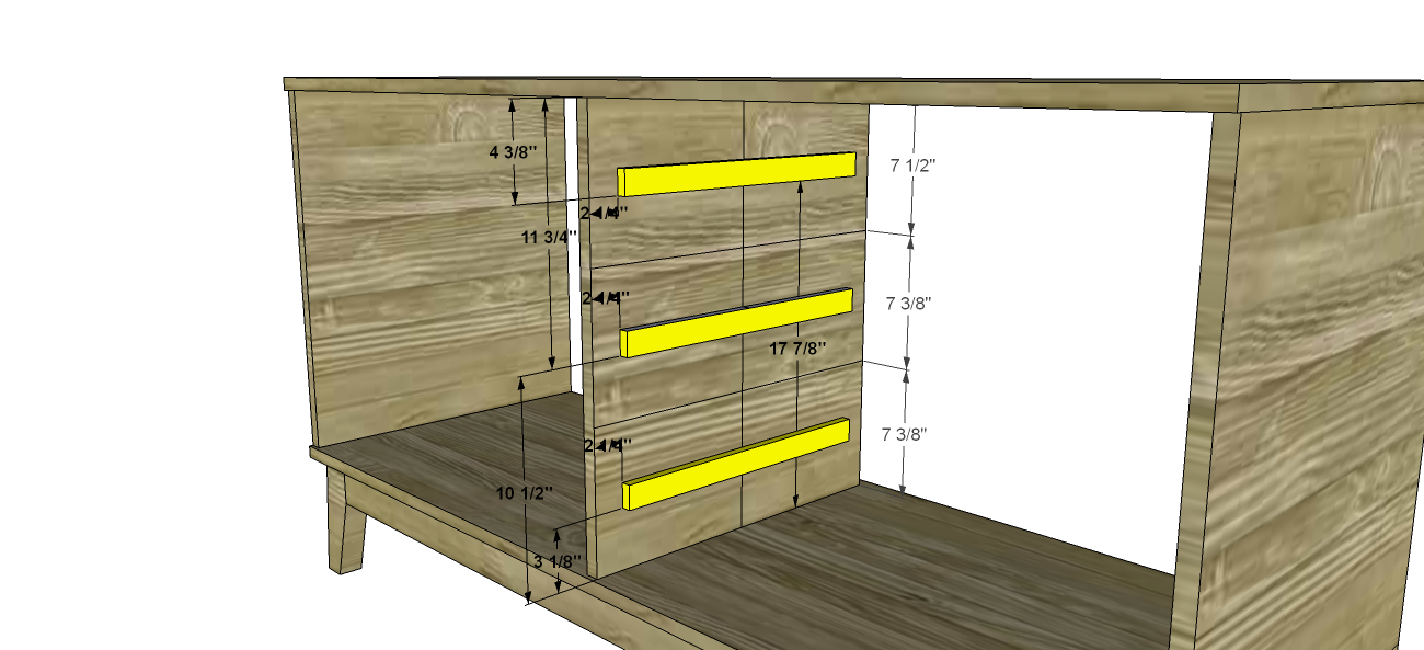 Free diy furniture plans how to build a steppe drawer