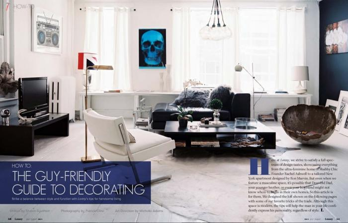 space: masculine modern and moody - the design confidential
