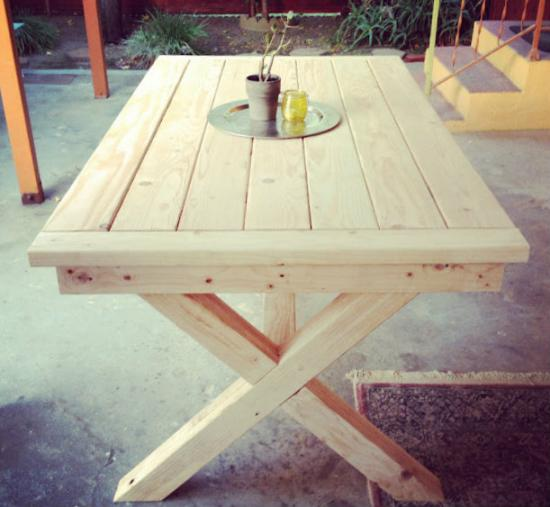 Wooden Outdoor Table Plans Wooden Outdoor Table Plans I Nongzico