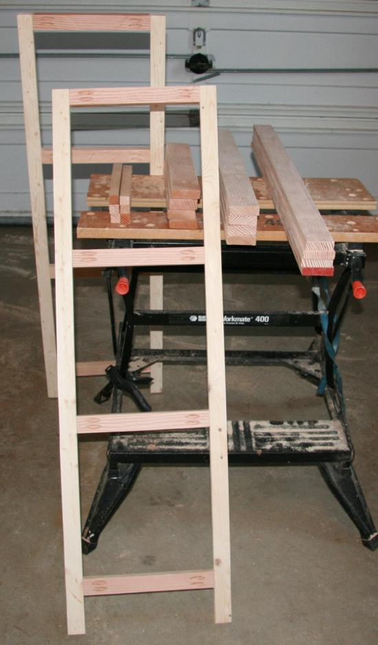 Builders Showcase A Frame Plant Stand The Design