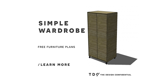 Plans To Make A Wardrobe ~ Free diy furniture plans how to build a simple wardrobe