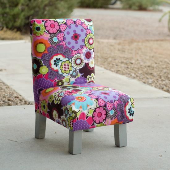 Free Diy Furniture Plans How To Build A Toddler Sized Slipper Chair The Design Confidential