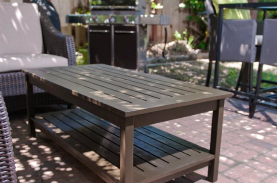 Builders showcase chesapeake coffee table the design for Showcase table design