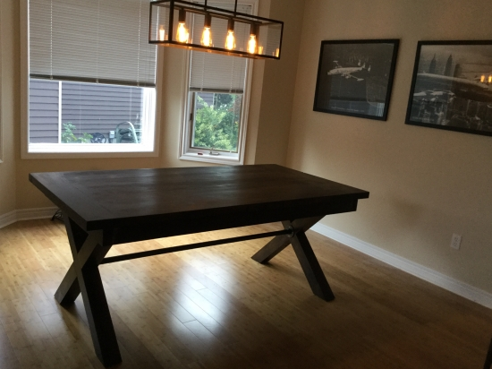 Builders Showcase Toscana Dining Room Table The