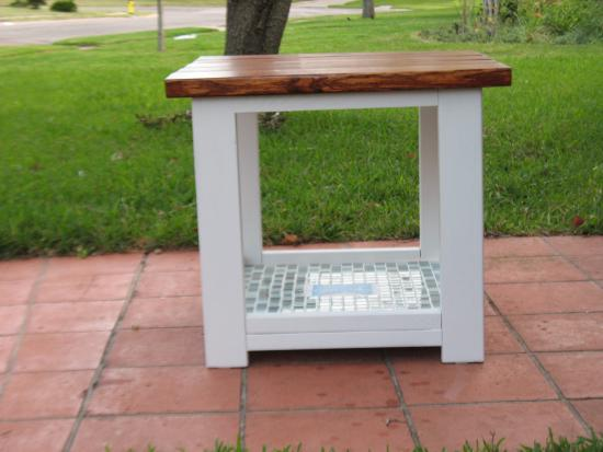 XEnd Table Without the Xs The Design Confidential – Make Your Own End Table